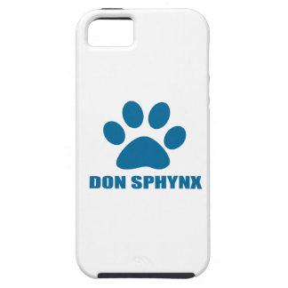FUNDA PARA iPhone SE/5/5s DISEÑOS DEL CAT DE DON SPHYNX