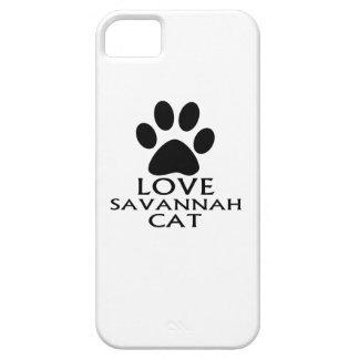 FUNDA PARA iPhone SE/5/5s DISEÑOS DEL CAT DE LA SABANA DEL AMOR