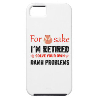 Funda Para iPhone SE/5/5s Diseños jubilados divertidos
