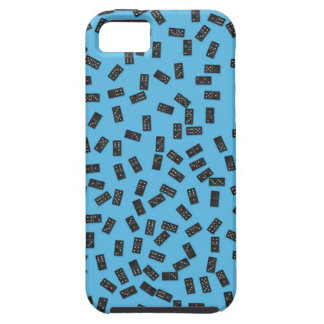 Funda Para iPhone SE/5/5s Dominós en azul
