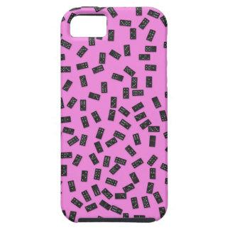 Funda Para iPhone SE/5/5s Dominós en rosa