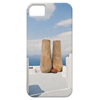 Funda Para iPhone SE/5/5s Dos potes grandes en la isla de Santorini