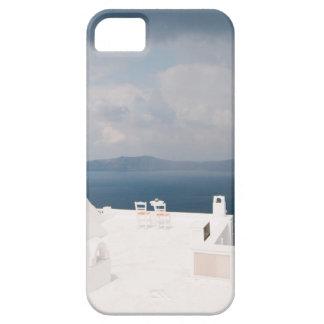 Funda Para iPhone SE/5/5s Dos sillas en la isla de Santorini