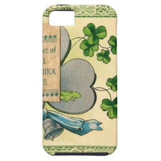 Funda Para iPhone SE/5/5s Drenaje del irlandés del vintage del día de St