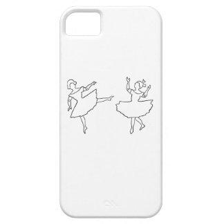 Funda Para iPhone SE/5/5s Ejemplo del recorte de los bailarines