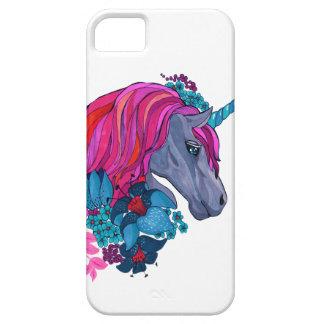 Funda Para iPhone SE/5/5s Ejemplo mágico violeta lindo de la fantasía del