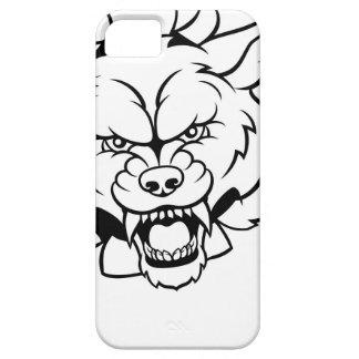 Funda Para iPhone SE/5/5s El animal del lobo se divierte la mascota que