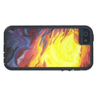 Funda Para iPhone SE/5/5s El caer a través del fuego