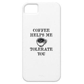 Funda Para iPhone SE/5/5s El café me ayuda a tolerarle