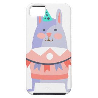 Funda Para iPhone SE/5/5s El conejo con el fiesta atribuye enrrollado