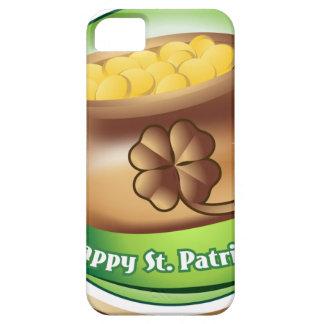 Funda Para iPhone SE/5/5s El día de St Patrick feliz, día de fiesta irlandés