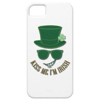 Funda Para iPhone SE/5/5s El día de St Patrick me besa que soy irlandés