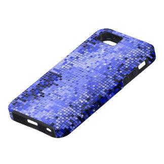 Funda Para iPhone SE/5/5s El disco azul metálico de la mirada de las