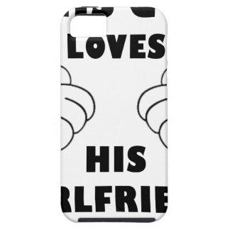 Funda Para iPhone SE/5/5s El individuo ama a la novia