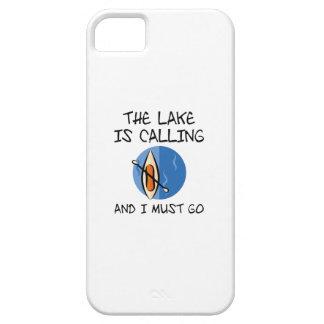 Funda Para iPhone SE/5/5s El lago está llamando