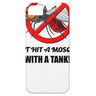 Funda Para iPhone SE/5/5s el mosquito no lo golpea con un tanque