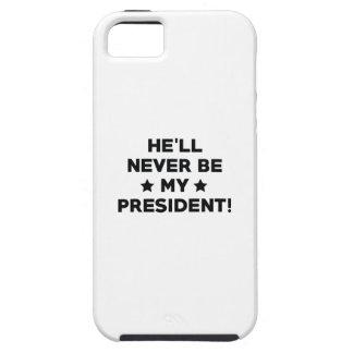 Funda Para iPhone SE/5/5s Él no es mi presidente