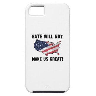 Funda Para iPhone SE/5/5s El odio no hará los E.E.U.U. grandes