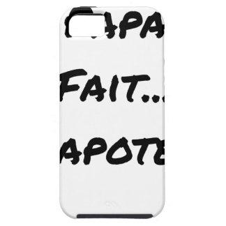 Funda Para iPhone SE/5/5s El PAPADO HACE PARLOTEAR - Juegos de palabras