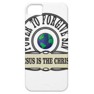 Funda Para iPhone SE/5/5s El poder de Jesús perdona pecado en mundo