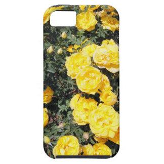 Funda Para iPhone SE/5/5s El rosa amarillo soleado florece el autobús