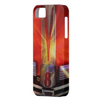 Funda Para iPhone SE/5/5s Emblema del cromo de V8 en Hotrod