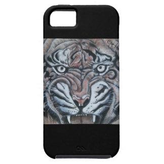Funda Para iPhone SE/5/5s En el Borde-Tigre