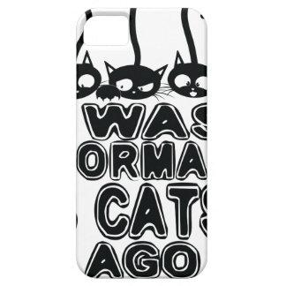 Funda Para iPhone SE/5/5s Era hace gatos normales