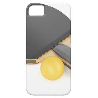 Funda Para iPhone SE/5/5s Estafa y bola de tenis de mesa