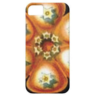 Funda Para iPhone SE/5/5s estampado de plores anaranjado de la estrella
