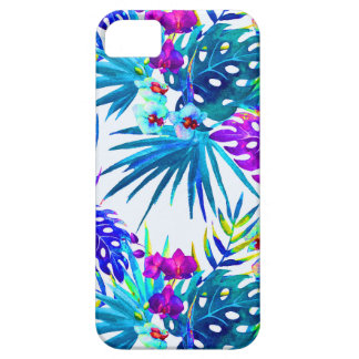 Funda Para iPhone SE/5/5s Estampado de plores tropical de lujo