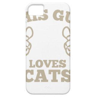 Funda Para iPhone SE/5/5s Este individuo ama gatos