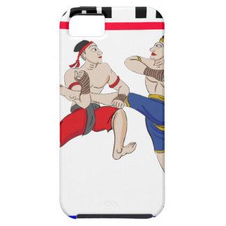 Funda Para iPhone SE/5/5s Excesivo tailandés de Muay todo