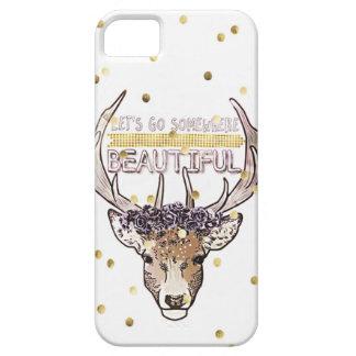 Funda Para iPhone SE/5/5s Explorador de los ciervos