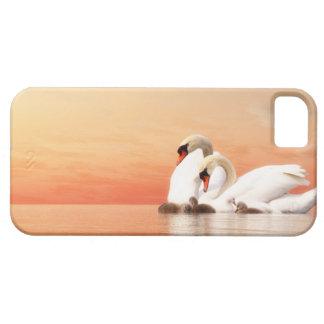 Funda Para iPhone SE/5/5s Familia del cisne