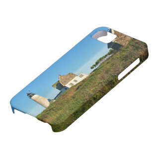 Funda Para iPhone SE/5/5s Faro de madera de la isla, caso del iPhone de