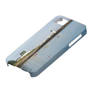 Funda Para iPhone SE/5/5s Faro del punto de Marshall, caso del iPhone de