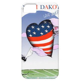 Funda Para iPhone SE/5/5s fernandes tony ruidosos y orgullosos de Dakota del