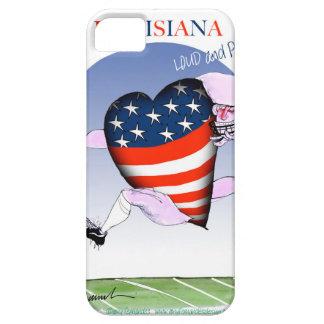 Funda Para iPhone SE/5/5s fernandes tony ruidosos y orgullosos de Luisiana,