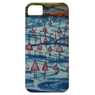Funda Para iPhone SE/5/5s Flamencos en el lago salado