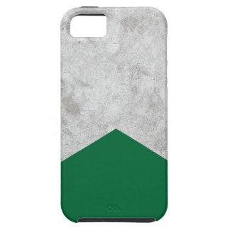 Funda Para iPhone SE/5/5s Flecha concreta Forest Green #326