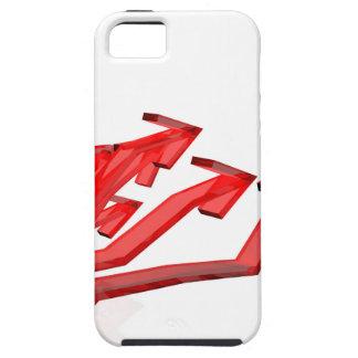Funda Para iPhone SE/5/5s Flechas rojas