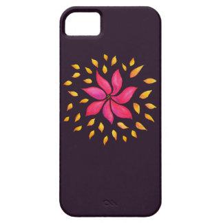 Funda Para iPhone SE/5/5s Flor caprichosa abstracta del rosa de la acuarela