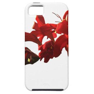 Funda Para iPhone SE/5/5s Flor roja