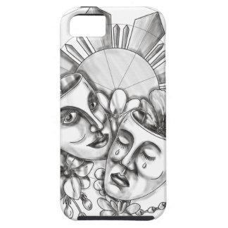 Funda Para iPhone SE/5/5s Flor S filipino de Sampaguita del hibisco de la