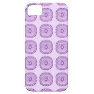 Funda Para iPhone SE/5/5s Flores modernas sutiles de la púrpura de la lila