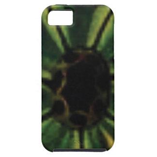 Funda Para iPhone SE/5/5s flores verdes del pétalo
