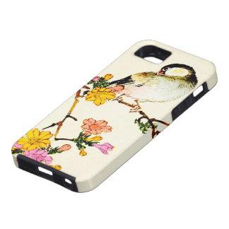 Funda Para iPhone SE/5/5s Flores y pájaro coloridos japoneses