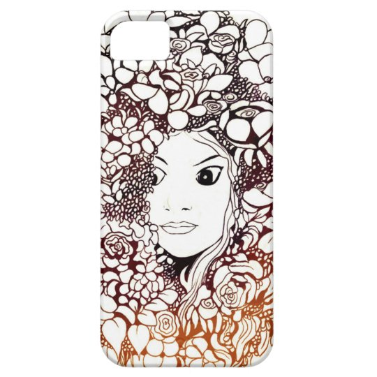 Funda Para iPhone SE/5/5s flower girl