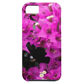 Funda Para iPhone SE/5/5s Fondo fucsia púrpura del Bougainvillea
